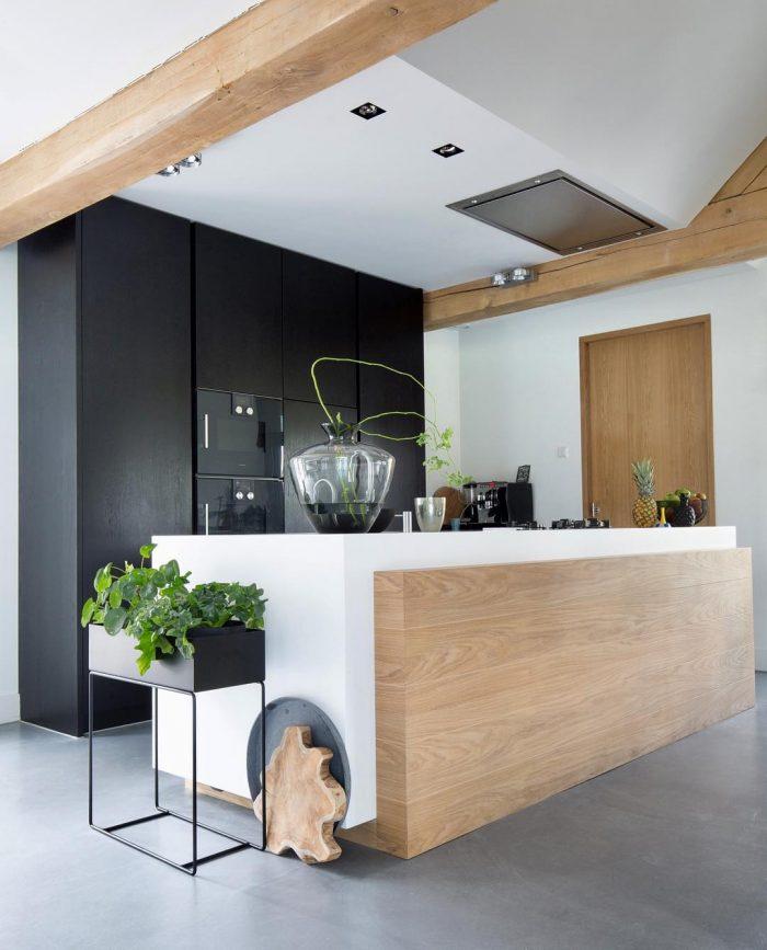 Cocina moderna dos tendencias en el dise o campanas - Campanas de cocina modernas ...