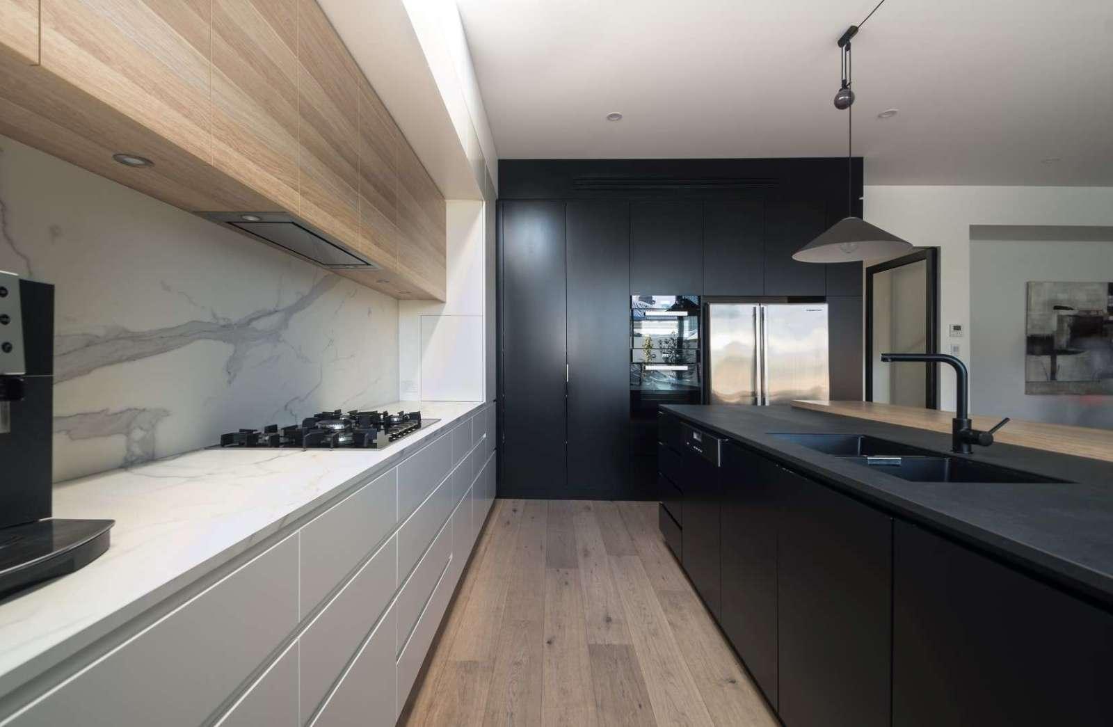 Cocina moderna an na studio - Campanas de cocina modernas ...